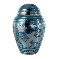 Bird Heading Home Keepsake Urn