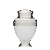 Elegant White Urn- Adult