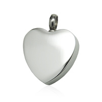 Classic Heart - Silver Colour with basic snake chain
