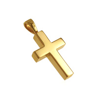 Solid 14ct Gold Cross