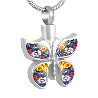 Butterfly Multi Colour Pendant
